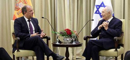 El presidente israelí asegura que Extremadura tiene todo lo necesario para desarrollar start-ups al igual que Israel