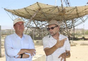Monago destaca la capacidad visionaria de Ben Gurión no sólo para Israel sino para el resto del mundo