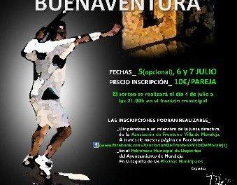 El Patronato de Deportes de Moraleja organiza el I Torneo de Frontenis San Buenaventura