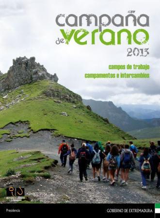 Jóvenes extremeños y de otras comunidades participan en la Campaña Verano 2013 del Instituto de la Juventud