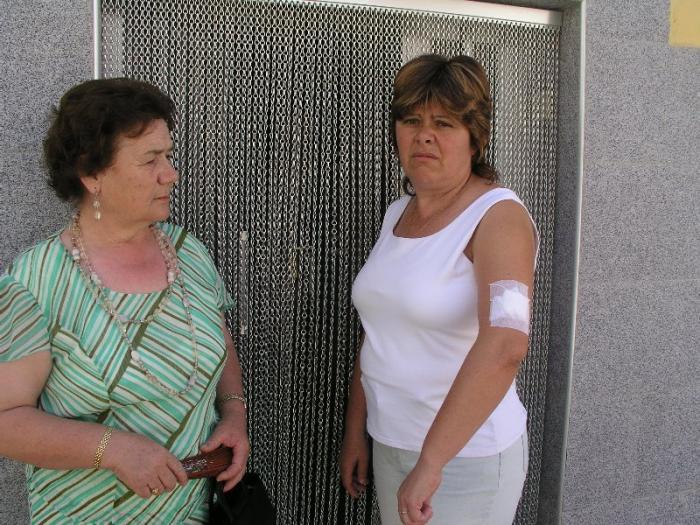 Trece personas resultan heridas con el chupinazo de las fiestas patronales en Montehermoso