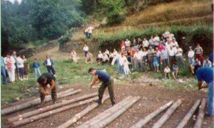 Jola no celebrará el concurso de corta y pela de troncos de pino en las fiestas de Santa María del Pinar