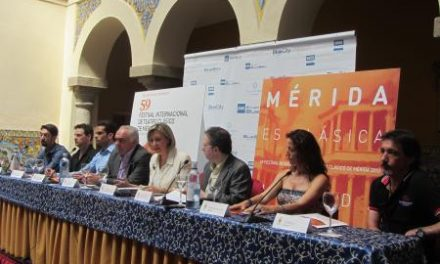 Nogales destaca la relevancia de contar con la Orquesta de Extremadura en el Festival de Teatro Clásico de Mérida