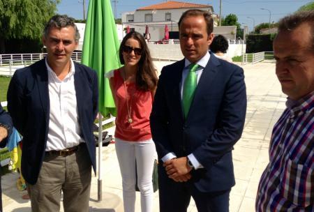 Parejo resalta el papel fundamental de los pueblos rayanos como nexo de unión entre la región y Portugal