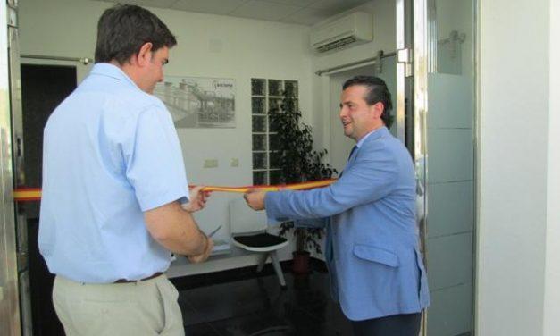 Moraleja inaugura las nuevas oficinas del servicio municipal de aguas, alcantarillado y depuración