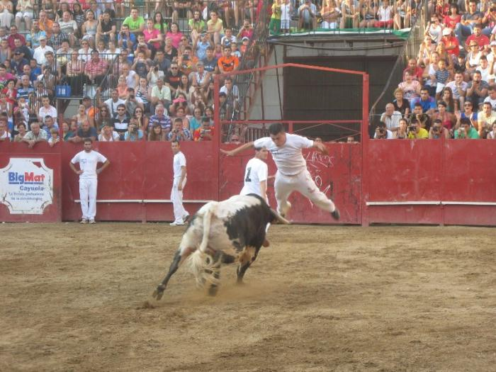 El Campeonato Nacional de Recortadores de San Buenaventura finaliza con un herido por asta de toro