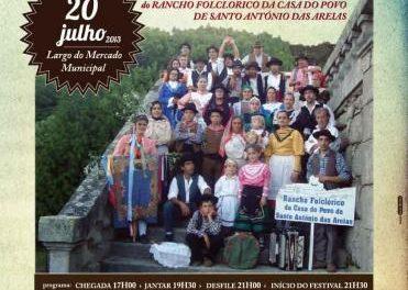 Cuatro grupos folklóricos participarán en el XXXIII Festival de Folclore Luso-Español