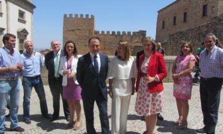 Nogales asegura que el Consorcio 'Cáceres Ciudad Histórica' supondrá un nuevo motor de crecimiento