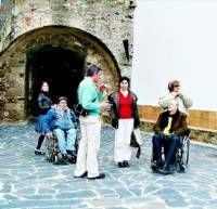 Olivenza prepara una ruta accesible para las personas discapacitadas dentro del proyecto Rutas Sin Barreras
