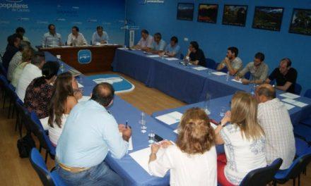 Laureano León considera que la renovación de las estructuras comarcales fortalecen al PP