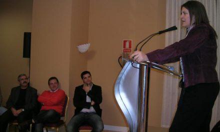 Trujillo destaca en Coria los compromisos sociales del PSOE para la próxima legisltura si ganan el 9-M