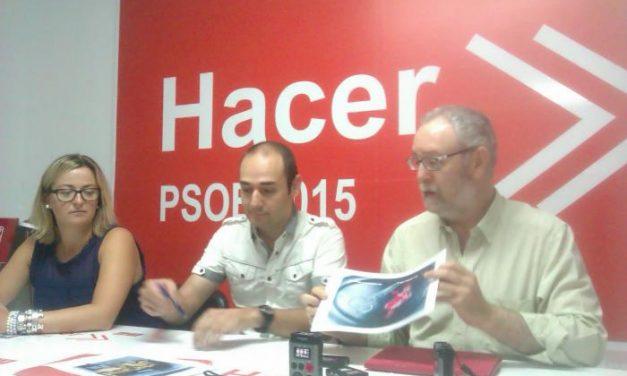 El PSOE demanda que los centros del Sepad vuelvan a recibir los alimentos con proveedores de la región