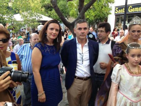 La directora general de Turismo asiste a la Boda Regia en Valencia de Alcántara