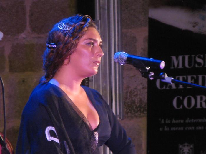 Estrella Morente abre la XVII edición del Festival de Guitarra de Coria con un lleno absoluto