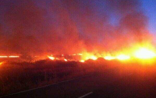 El Plan Infoex declara el Nivel 1 por un incendio en Valverde del Fresno cercano a un cámping