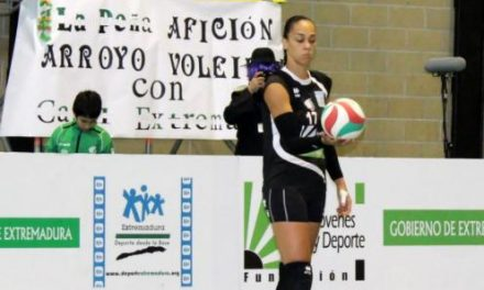 La central Flavia Lima acepta la propuesta de renovación del club de voleibol Extremadura Arroyo