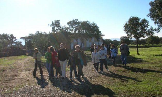 Una ruta de senderismo recorrerá este domingo los parajes rayanos de la zona de Valencia de Alcántara