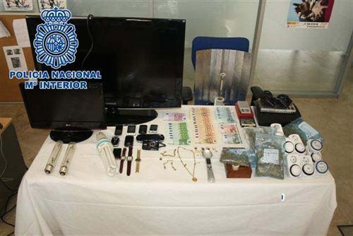 La Policia Nacional detiene a dos hermanos en Plasencia tras incautarles 682 plantas de marihuana