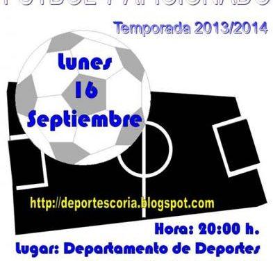 El Ayuntamiento de Coria abrirá en octubre el plazo de inscripción para el XXII Campeonato de Fútbol-7