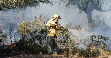 El incendio de Cuacos de Yuste ha afectado a 63,4 hectáreas, principalmente de matorral