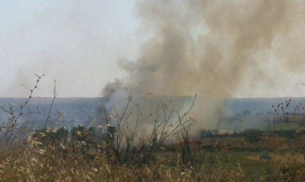 El Infoex declara el Nivel 1 en un incendio cercano a unas viviendas  en la ciudad de  Coria