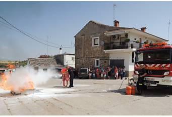 Unos 600 cacereños se han formado este verano en materia de autoprotección y prevención de incendios