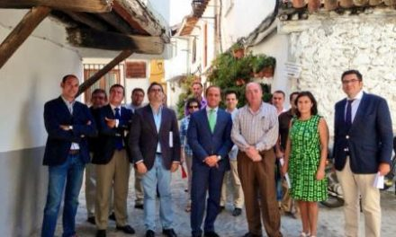 La candidatura de Hervás a Mejor Rincón de España 2013 cuenta con el apoyo y el respaldo político regional