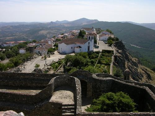 El castillo de la localidad lusa de Marvâo resulta seleccionado para los premios Más Alentejo