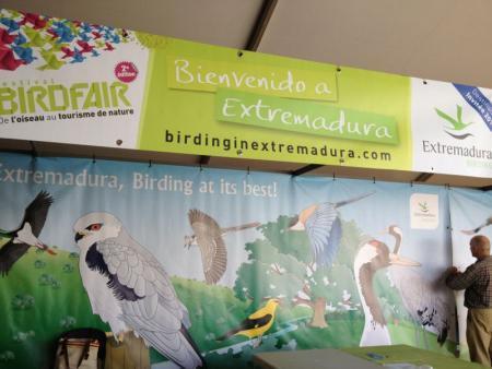 Extremadura es el destino invitado en el Festival de Turismo Ornitológico y de Naturaleza de Francia