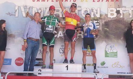 El ciclista placentino Pedro Romero consigue el subcampeonato de España XCM en Cazorla