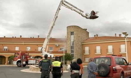 Bomberos de Coria realizarán un simulacro de incendio y evacuación este jueves en el Joaquín Ballesteros
