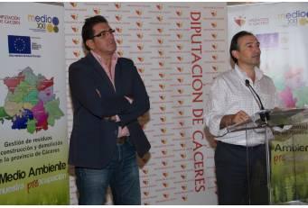 Diputación invierte cerca de 6 millones de euros en el Plan de Gestión de Residuos es la zona sur de Cáceres