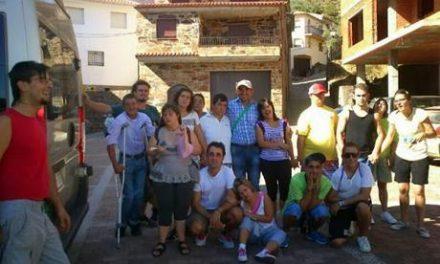 El grupo Ociodiscap del Ambroz de la Fundación Premysa realiza una visita a la comarca de Las Hurdes