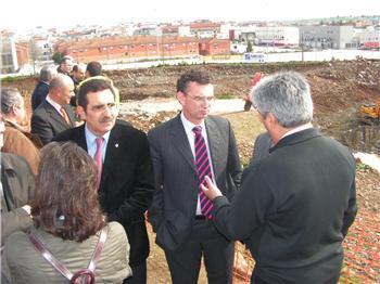 El edificio de las nuevas consejerías de la Junta de Extremadura en Mérida estará terminado en el 2010