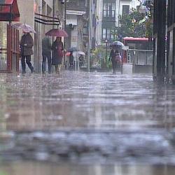 Meteorología activa la alerta amarilla por lluvias este viernes en el norte de Cáceres y sur de Badajoz