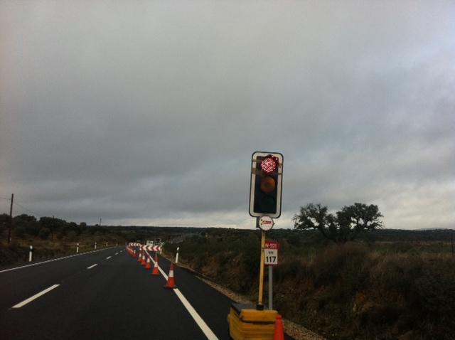 La Mancomunidad Sierra de San Pedro solicitará la construcción de una parada en el cruce  los Lapones