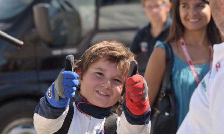 El piloto moralejano Luis Belloso se proclama campeón de Portugal de Karting en su categoría