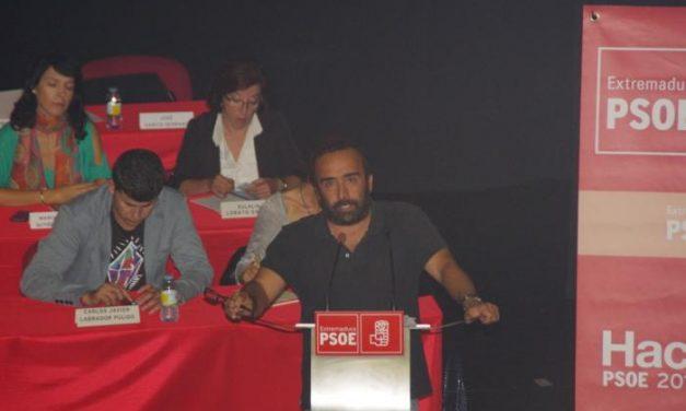 El Comité Provincial del PSOE, celebrado en Montehermoso, rechaza la reforma local del PP