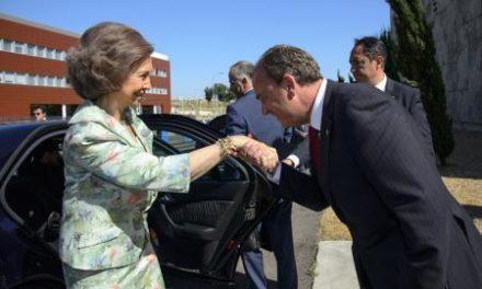 La Reina Doña Sofía preside en Badajoz la festividad de la Virgen del Pilar, Patrona de la Guardia Civil