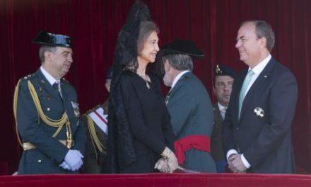 Monago participa en los actos conmemorativos de la Virgen del Pilar presididos por S.M la Reina Doña Sofía