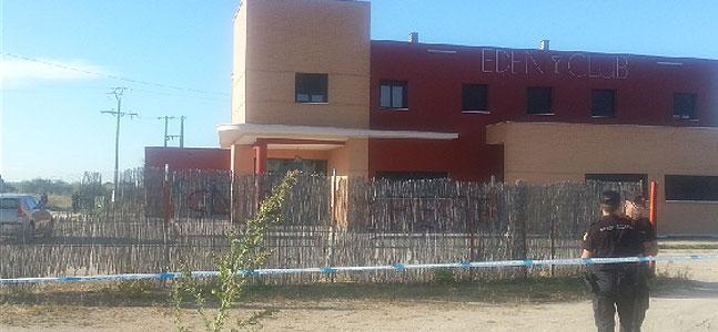 La Policía Nacional halla un cadáver maniatado cerca de dos clubes de alterne en Don Benito