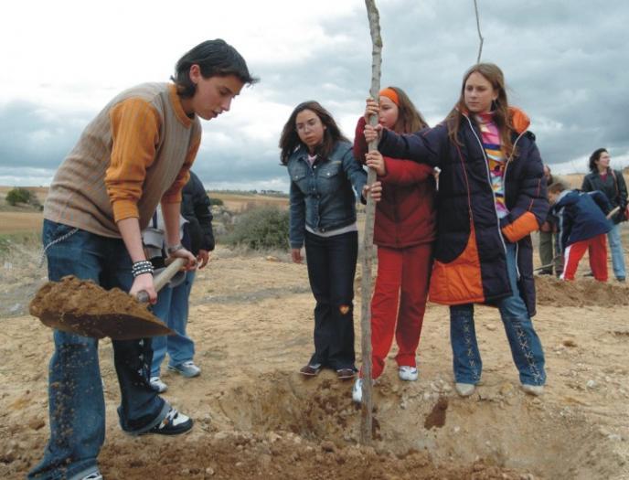 El programa Plantabosques reforestará este fin de semana con 6.000 árboles la comarca de Villuercas