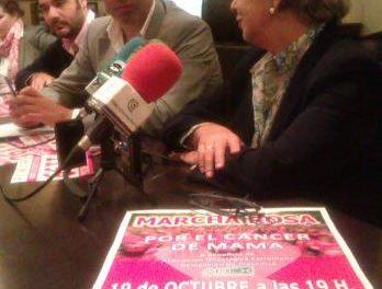 La I Marcha Rosa de Plasencia contra el cáncer de mama vende 1.300 dorsales solidarios para el sábado