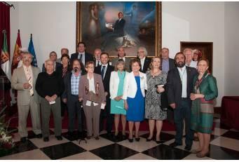 La Diputación de Cáceres ha celebrado este viernes los actos en honor a su patrón, San Pedro de Alcántara