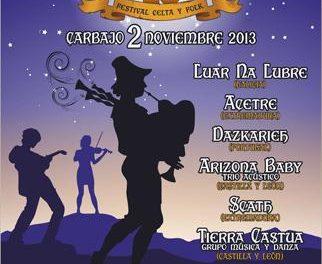 Grupos extremeños y de Castilla y León actuarán en el Festival  El Magusto de Carbajo el 2 de noviembre