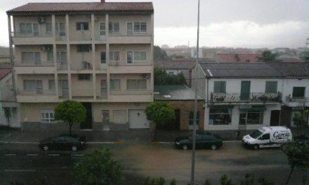 El 112 Extremadura activa la alerta amarilla por fuertes lluvias en distintos puntos de la comunidad autónoma
