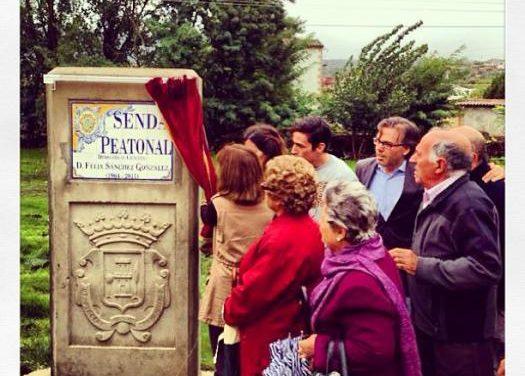 Plasencia rinde homenaje a un ciclista atropellado en 2011 dedicándole un paseo en el entorno del río Jerte
