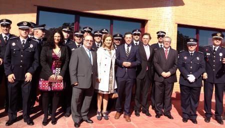 La Policía Local de Plasencia celebra la festividad de su patrón con un homenaje al agente Aniceto García