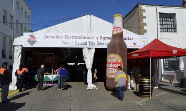 Los expositores de las V Jornadas Gastronómicas  Tajo Internacional  venden más de 10.000 tickets