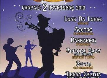 El X Festival 'El Magusto' de Carbajo reunirá este sábado a grupos de música folk y celta nacionales e internacionales